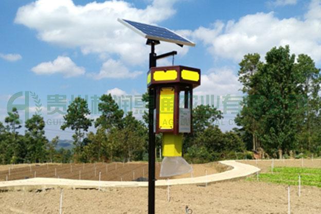 太陽能自控多方式害蟲誘捕器  宮燈型