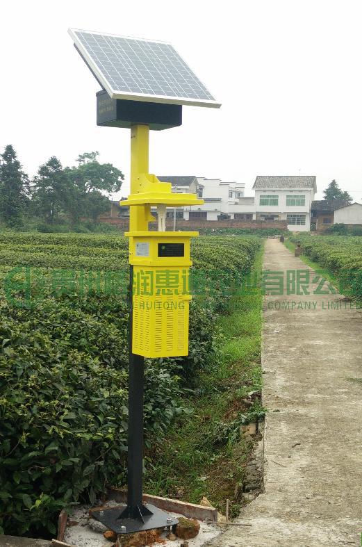 風吸式太陽能殺蟲燈——1009